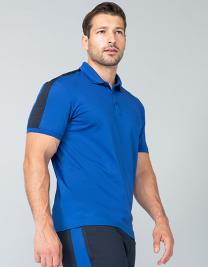 Adults Contrast Panel Polo